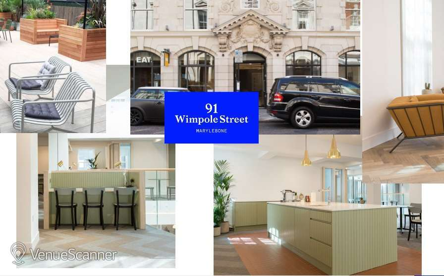 Hire The Office Group Wimpole St Meeting Room 1, 2 & 3 2