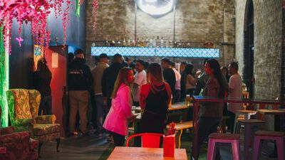 Banh Bao Brothers, Bar Area
