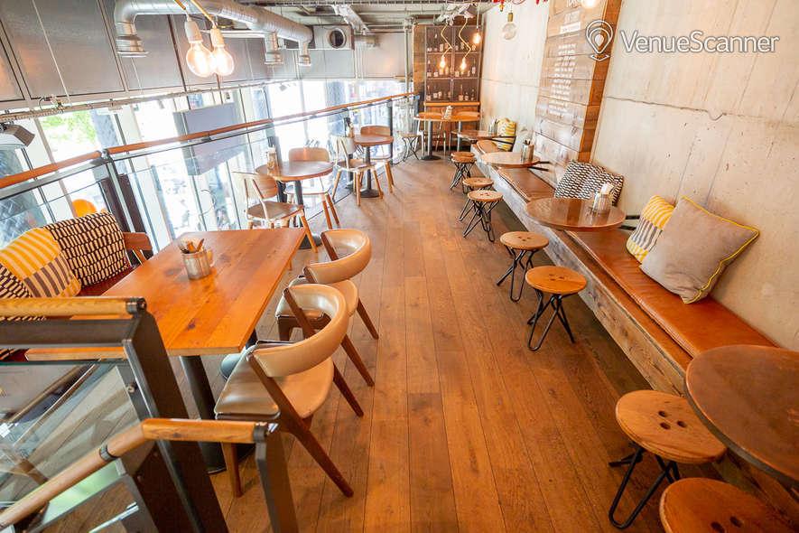 Hire Notes Coffee Roasters & Bars Kings Cross Mezzanine 5
