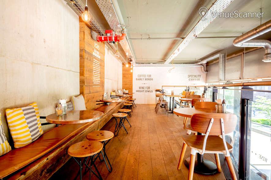 Hire Notes Coffee Roasters & Bars Kings Cross Mezzanine 4