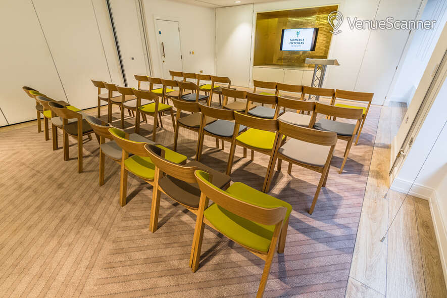 Hire Farmers & Fletchers In The City Court Room And Reception Area