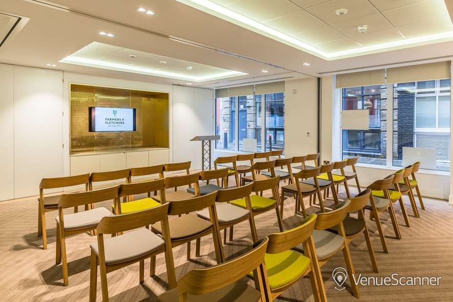 Hire Farmers & Fletchers In The City Court Room And Reception Area 1