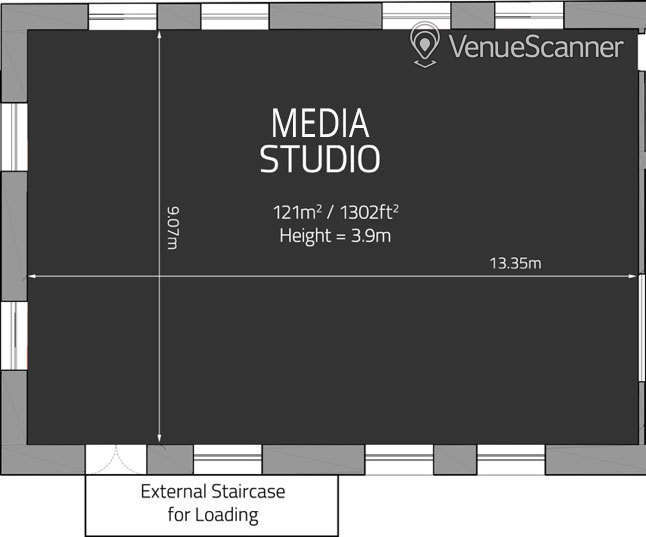 Hire Price Studios Ltd Media Studio 3