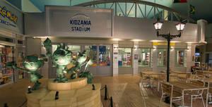 Kidzania, Plaza And Stadium