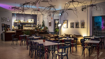 Streatham Space Project, Cafe/Bar