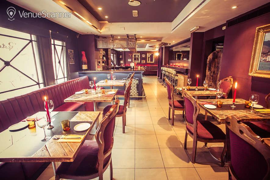 Hire Salvador Amanda Bloomsbury Meze Bar Dining Room