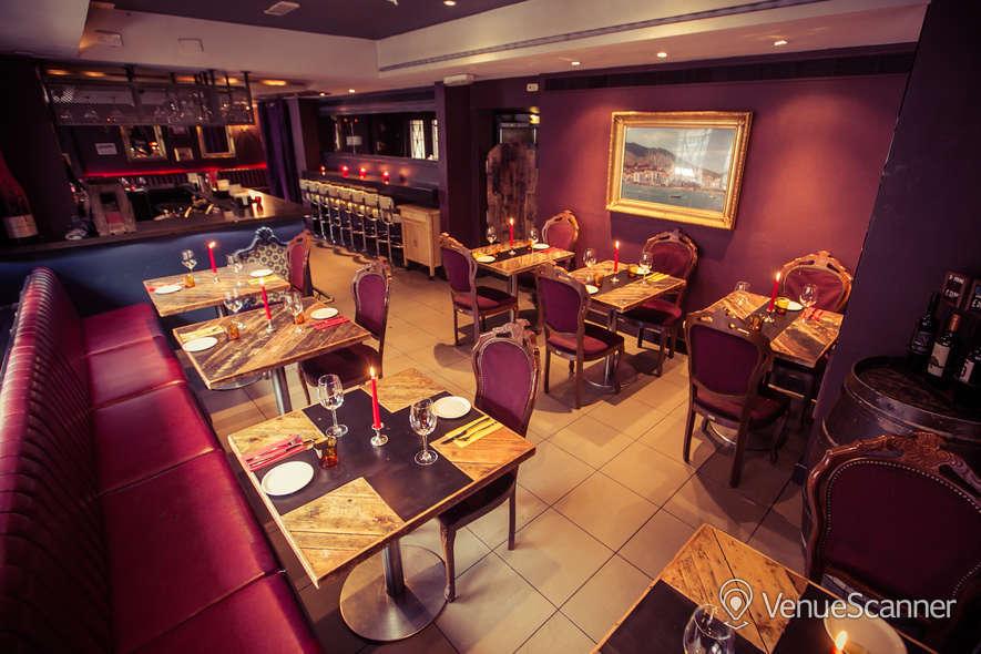 Hire Salvador Amanda Bloomsbury Meze Bar Dining Room 3