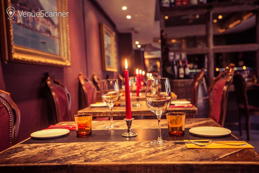 Hire Salvador Amanda Bloomsbury Meze Bar Dining Room 4