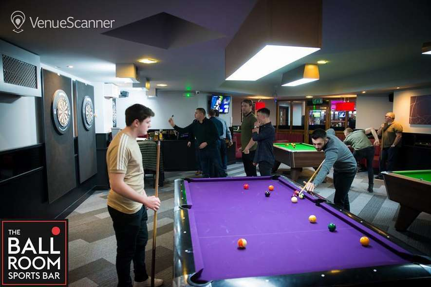 Hire The Ball Room Sports Bar & Pool Hall Meadowbank Pool Party Room 21