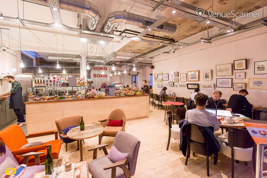 Hire Timberyard Soho Glass Room 1