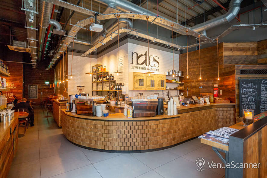 Hire Notes Coffee Roasters & Bars Bank Full Venue W/ Outdoor Space