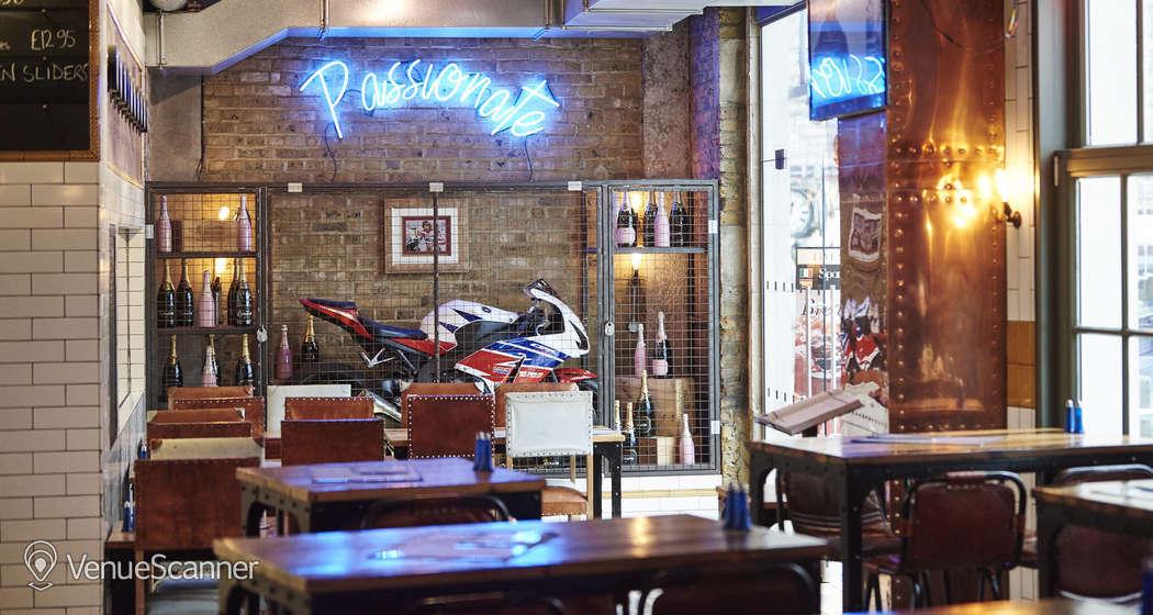 Hire Sports Bar & Grill Waterloo Semi-private Bar Area    2