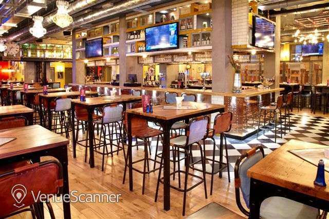 Hire Sports Bar & Grill Waterloo Semi-private Bar Area    3