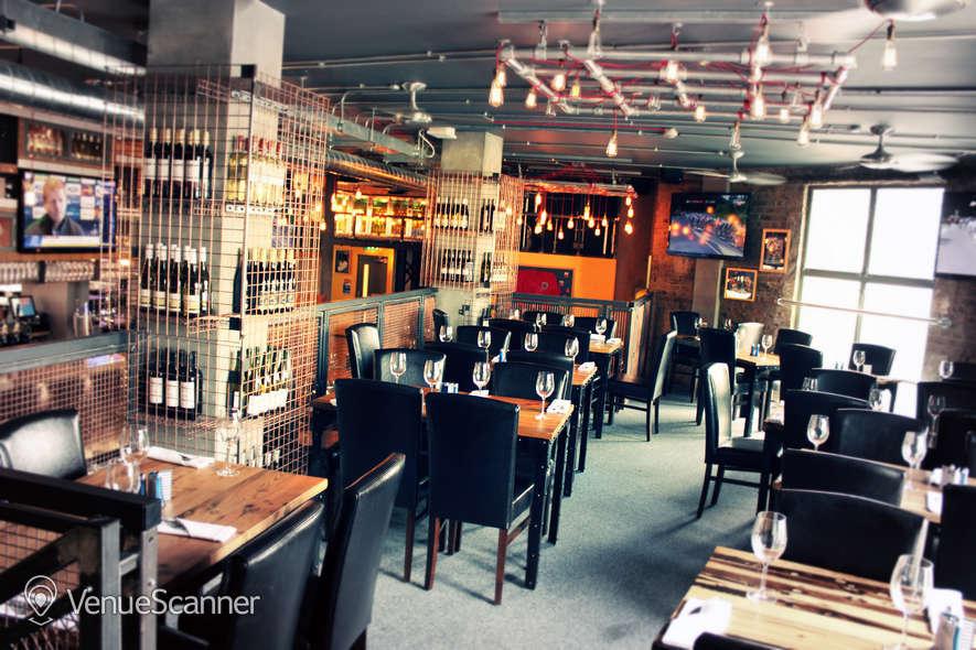 Hire Sports Bar & Grill Waterloo Semi-private Bar Area    7