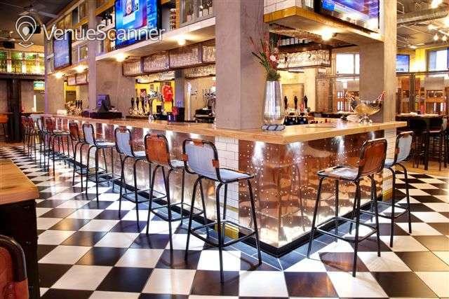 Hire Sports Bar & Grill Waterloo Semi-private Bar Area