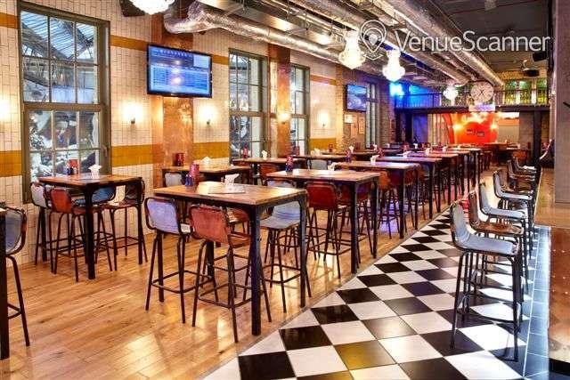 Hire Sports Bar & Grill Waterloo Semi-private Bar Area    1