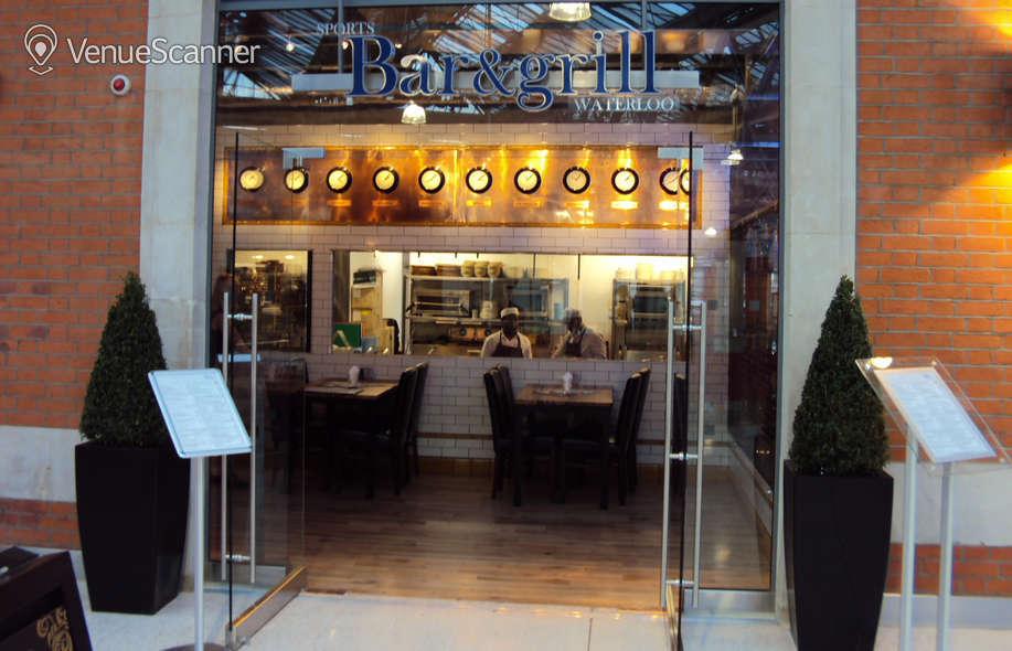 Hire Sports Bar & Grill Waterloo Semi-private Bar Area    9