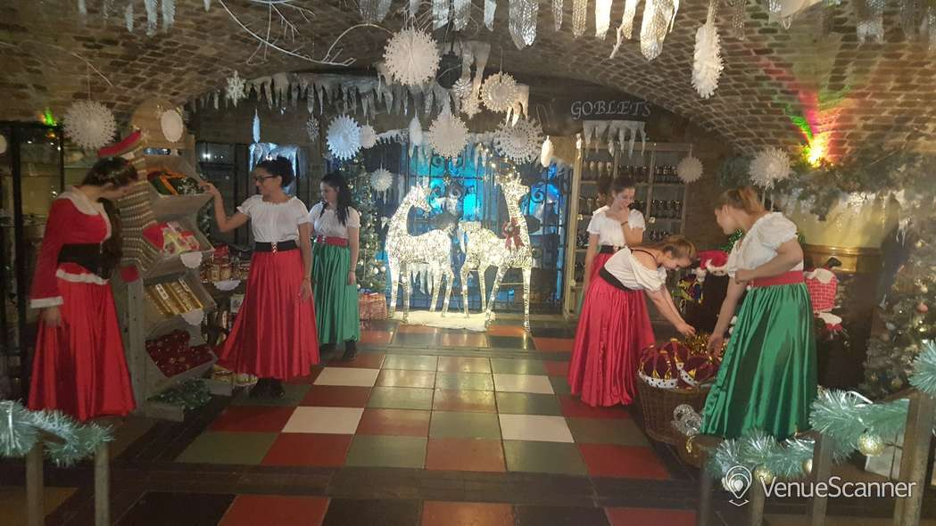 Hire The Ivory Vaults Xmas Party, Nightfall Banquet 6