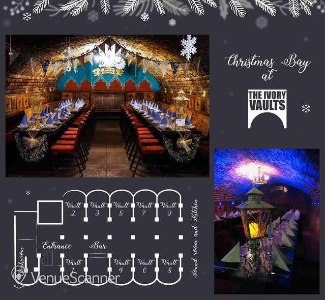 Hire The Ivory Vaults Xmas Party, Nightfall Banquet 9