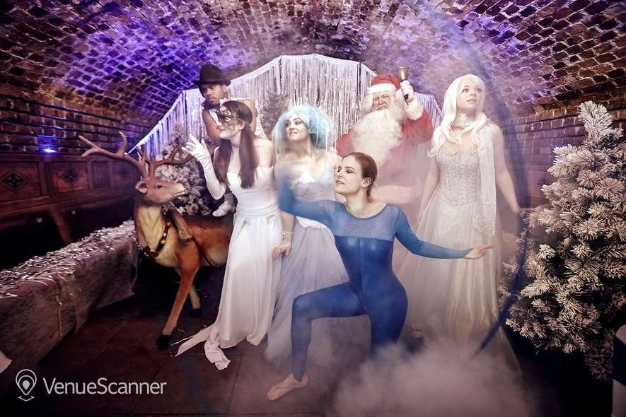 Hire The Ivory Vaults Xmas Party, Nightfall Banquet 3