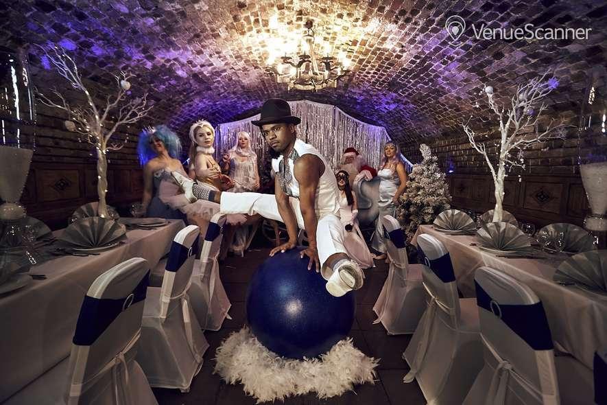 Hire The Ivory Vaults Xmas Party, Nightfall Banquet 4