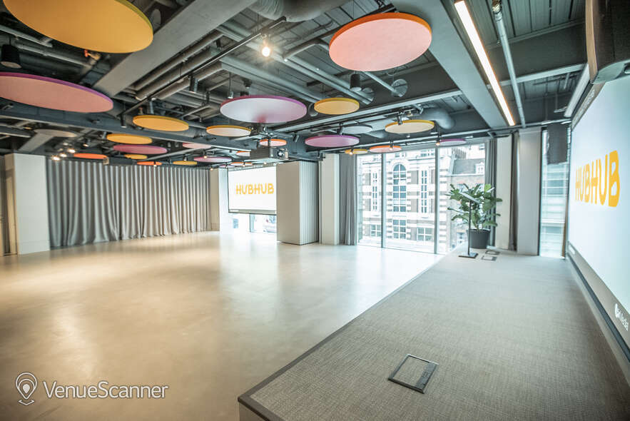 Hire HubHub Full Event Space - London 3