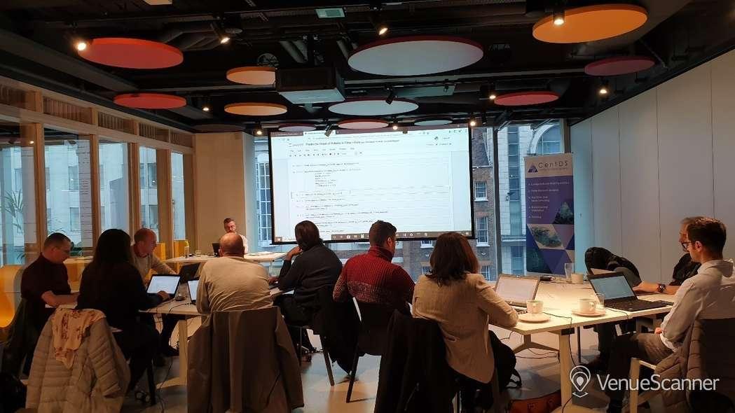 Hire HubHub Half Space - Meetings