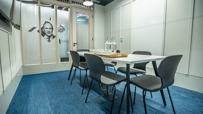 HubHub, Meeting Room - Tim Berners-Lee