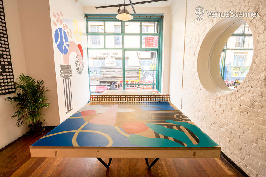 Hire The Book Club Ping Pong Room