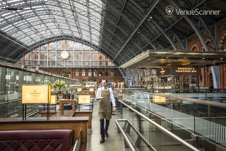 Hire St Pancras By Searcys Champagne Bar