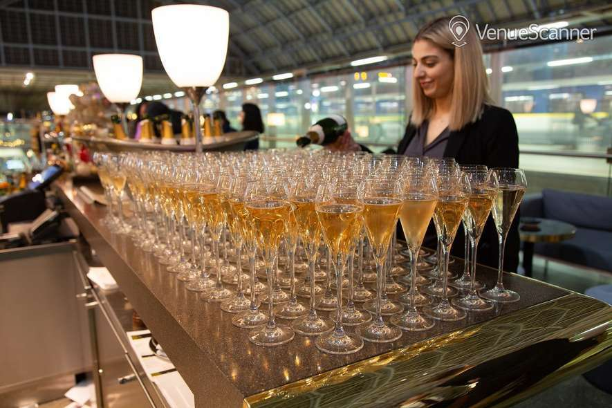 Hire St Pancras By Searcys Champagne Bar 4