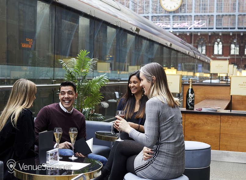 Hire St Pancras By Searcys Champagne Bar 8