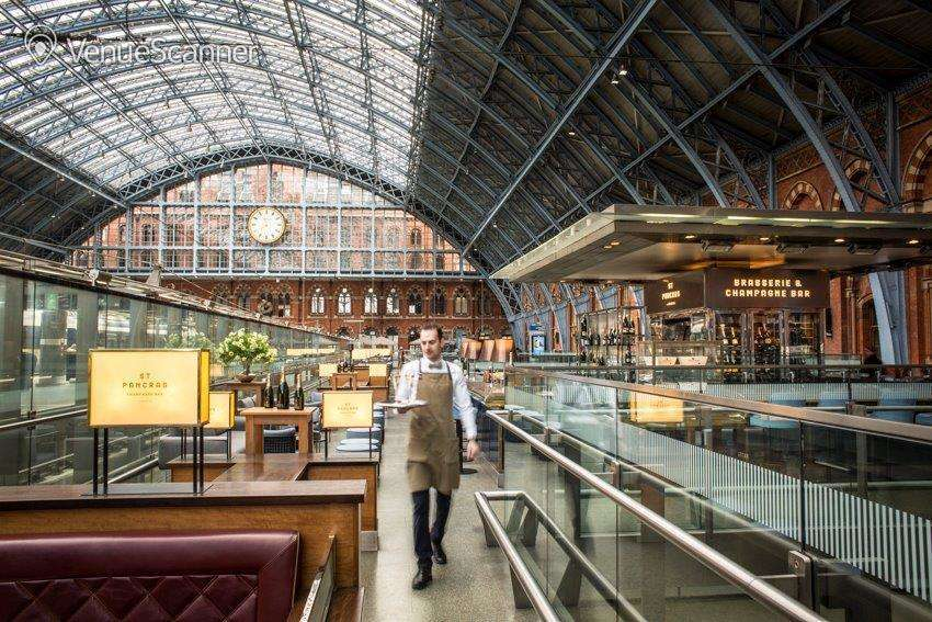 Hire St Pancras Brasserie & Champagne Bar By Searcys The Glass Room 4
