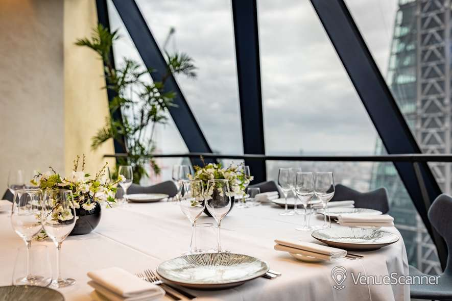 Hire Searcys At The Gherkin Double Private Dining Room 1