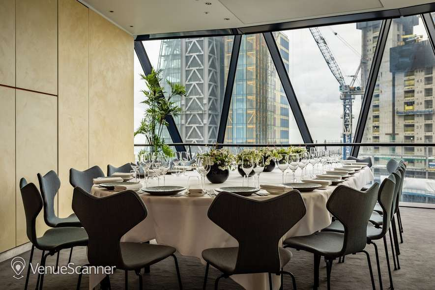 Hire Searcys At The Gherkin Double Private Dining Room