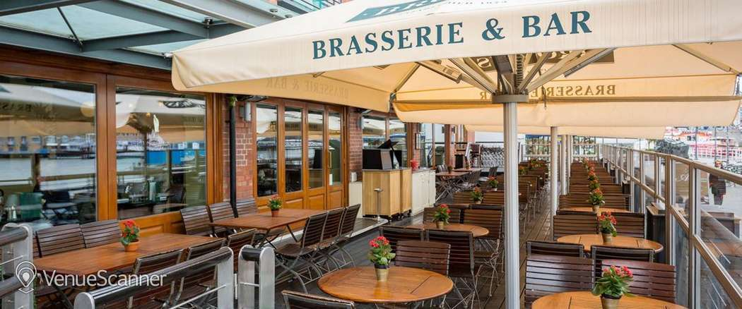Hire Browns Butlers Wharf Decked Terrace