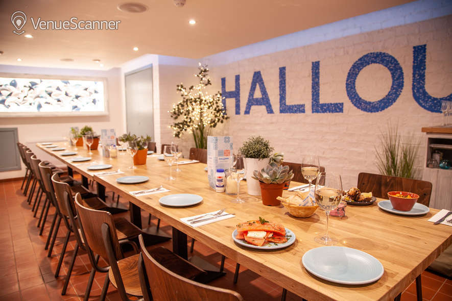 Hire Halloumi South Halloumi South Private Dining