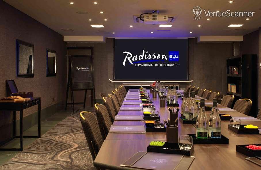 Hire Radisson Blu Edwardian, Bloomsbury Street 15