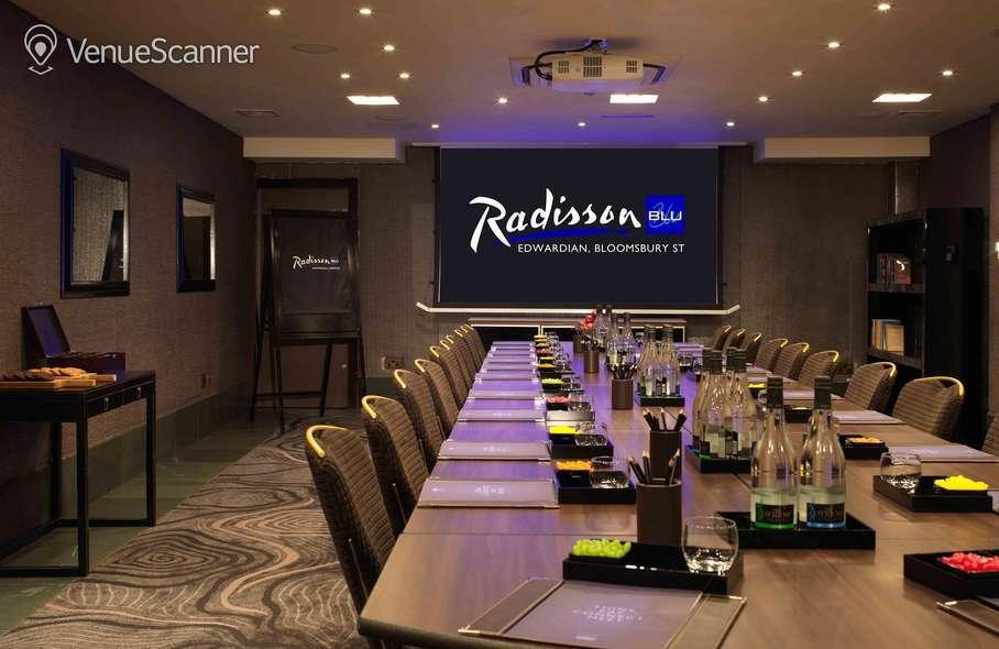 Hire Radisson Blu Edwardian, Bloomsbury Street 16