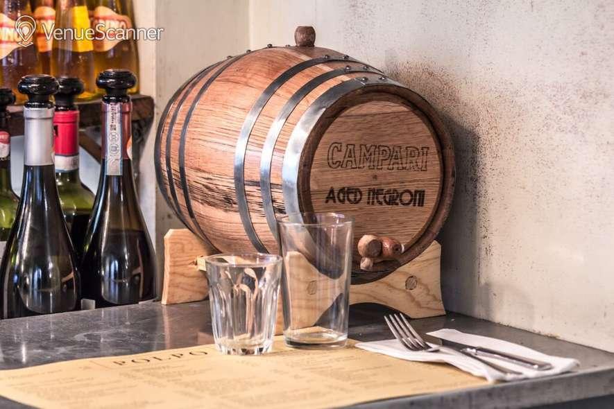 Hire Polpo Covent Garden Aperol Bar 12