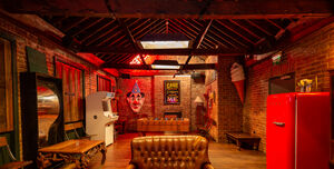 The Old Queens Head, The Playroom