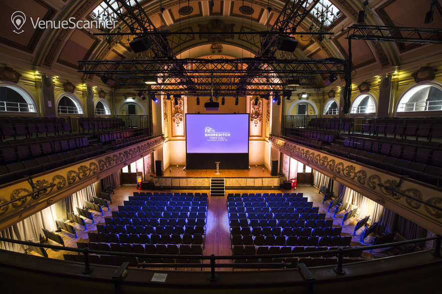 Hire Shoreditch Town Hall Assembly Hall 4