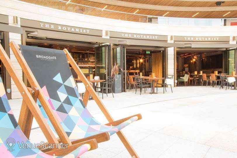 Hire The Botanist Broadgate Circle The Library 1