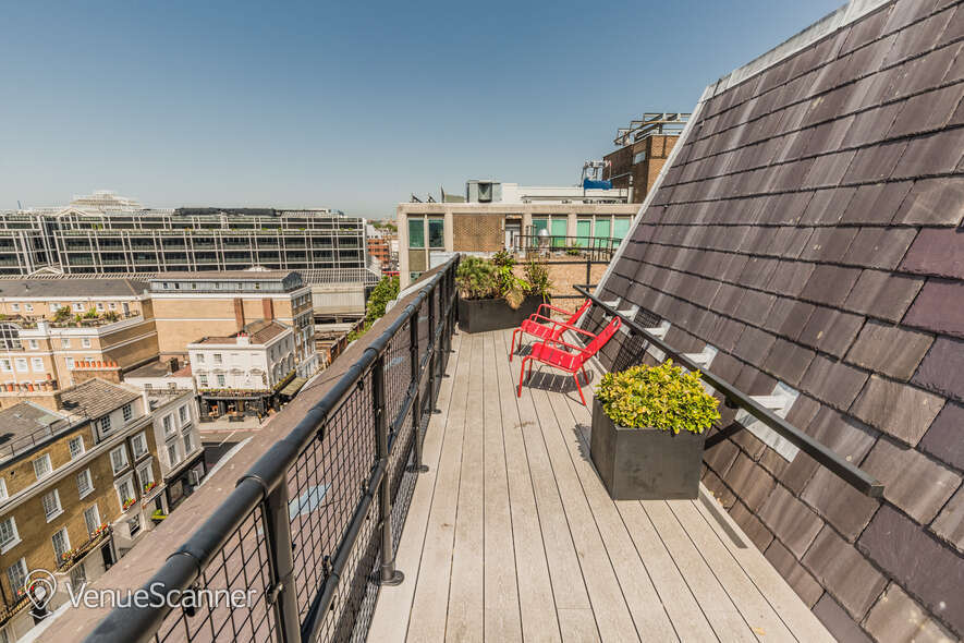 Hire Thomas House Roof Terrace