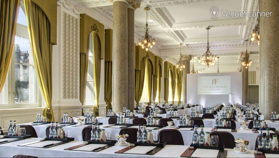 Hire The Balmoral Sir Walter Scott Suite 1