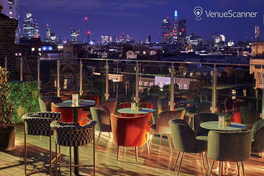 Hire Century Club Roof Terrace  4