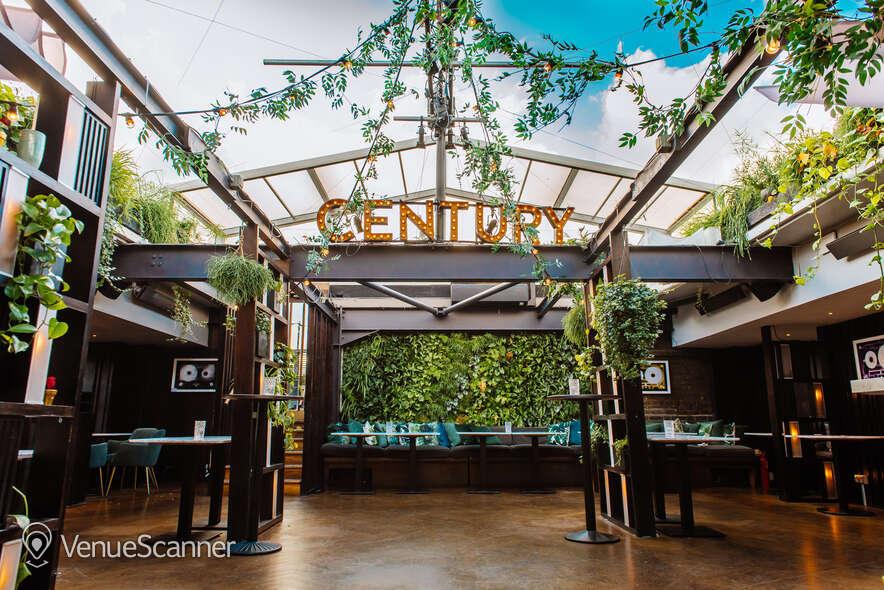 Hire Century Club Roof Terrace  1