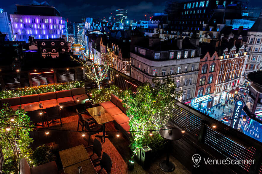 Hire Century Club Roof Terrace  7