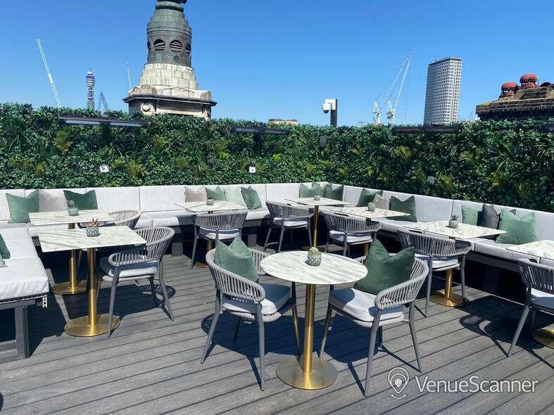 Hire Century Club Roof Terrace  6