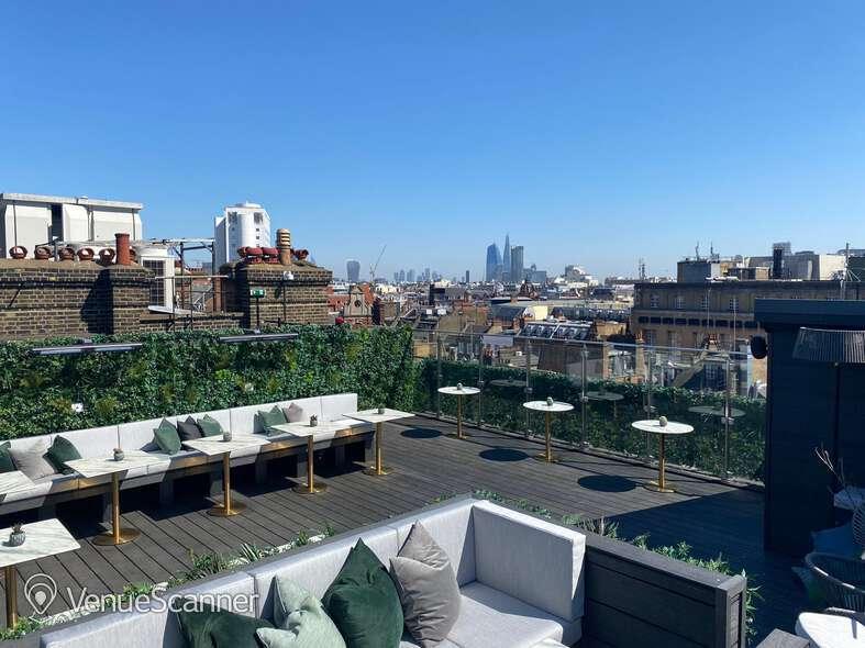 Hire Century Club Roof Terrace  5
